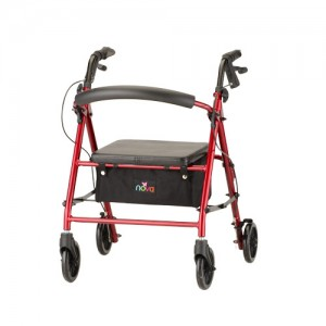 Vibe Petite Roll Walker Red