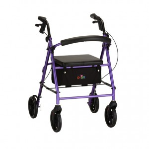 Vibe 8 Rolling Walker Purple