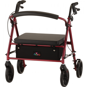 Vibe Petite Wide Roll Walker Red