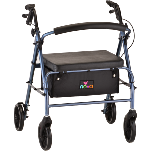 Vibe Wide Rolling Walker Blue