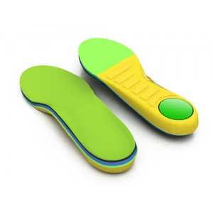 Insoles Spenco Polysorb Kids fits youth sizes 3-4
