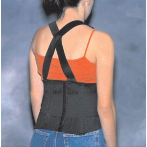 Back Support Industrial With Suspenders XXL 50-54