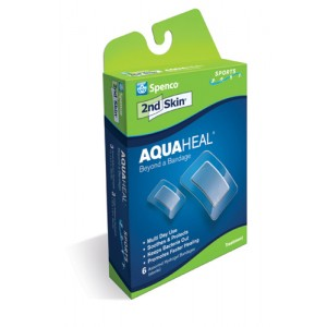 2nd Skin Aquaheal 3ea 1 x2.2 & 3ea 1.75 x3