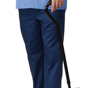 Cotton Open Back Adaptive Pants - Wheelchair Pants For Men