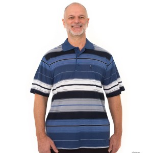 Regular Mens Short Sleeve Polo Shirt With Pocket