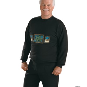 Mens Regular Fleece Top - Long Sleeve