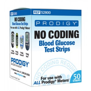 Prodigy Preferred Blood Glucose No Coding Strips /50