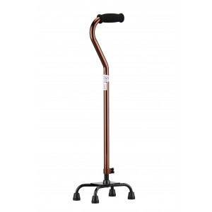 Quad Cane Small Base Bronze