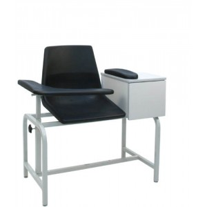 Blood Drawing Chair With Cabinet