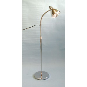 Deluxe Exam Lamp With Swivel Head- Chrome Base