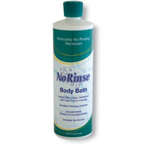 No Rinse Body Bath 16 oz