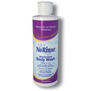 No Rinse Body Wash 8 oz