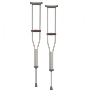 Crutch Aluminum Quick Adjustable X-Short
