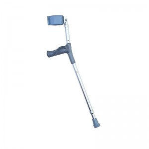 Forearm Crutches Anatomical Grip Short