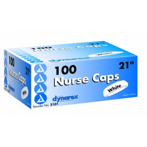 Surgical Caps Blue 21 Box/100