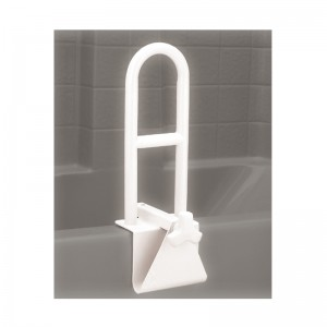 Tub Grab Bar - White Powder Coated