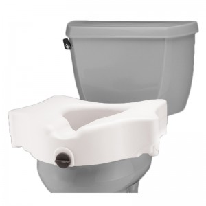 "Raised Toilet Seat - 5"" Locking"
