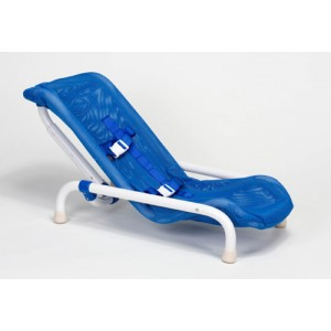 Reclining Bath Chair Large Blue