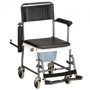 Transport Chair Commode Drop Arm