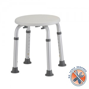 Bath Stool Knockdown No Tools Required