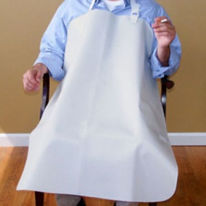Smokers Apron 34 x 30 White