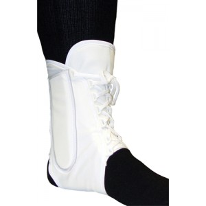 Ankle Brace Canvas Lightweight Large 10 -11
