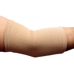 Elastic Elbow Support Beige Large 10 -11