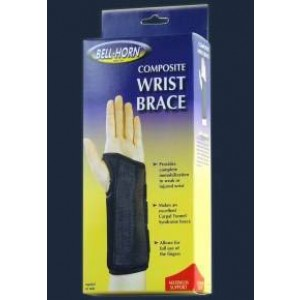 Composite Wrist Brace Right X-Small Wrist Circumference: 4 -5