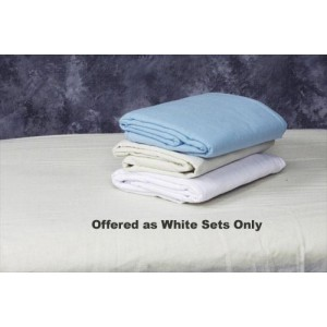 Linen Set for Massage Table White Flannel Set 45