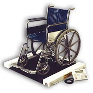 Roll A Weigh Wheelchair Scale 1 000 Lb. Cap.
