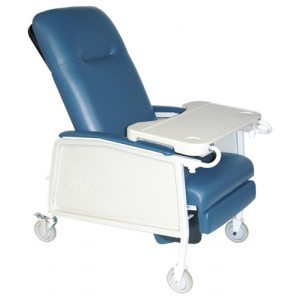 Recliner 3-Position Bariatric Blue Ridge
