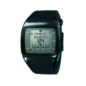 Polar Hear Rate Monitor FT60M Black With White Display Male