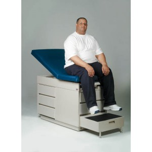 Bariatric Deluxe Exam Table Steel 600 Lb. Capacity