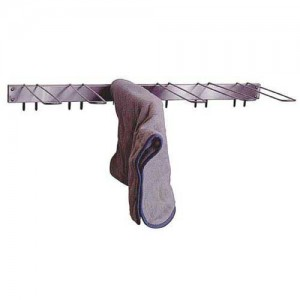 Towel Drying Rack Stationary 6-Hook Wall Mount