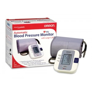 Digital Blood Pressure With Large Cuff