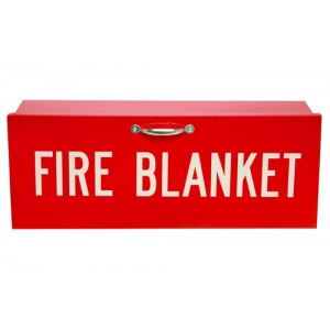 Fire Blanket & Cabinet (Kit)