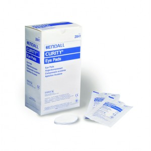 Curity Eye Pads Box/50 Sterile Oval-shaped