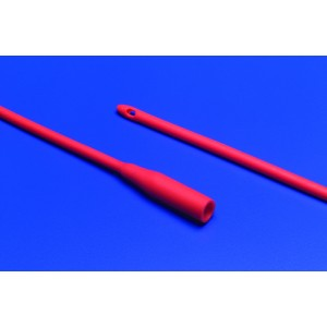 Red Rubber Robinson Catheters 18fr Pack/10