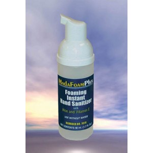 MadaFoam Plus Instant Hand Sanitizer 1.7 fl oz. Pump-each