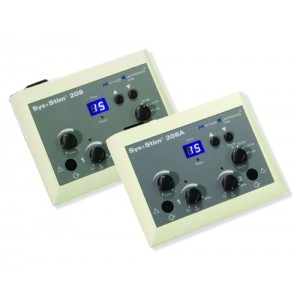 Sys*Stim 208A Low Volt Muscle Stimulator- 2 Channel