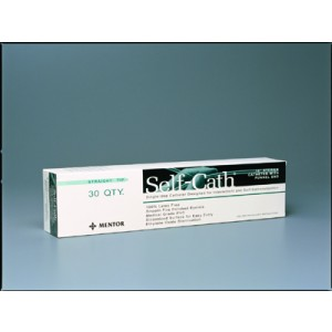 Self Cath Catheter 14fr 16 St Tip Green Funnel End /30