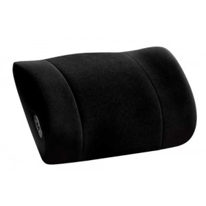 Lumbar Support with Massage Obusforme Black(Side to Side)