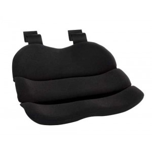 Obus Contoured Seat Cushion Black (Bagged)