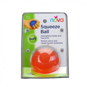 Hand Squeeze Ball Soft Orange