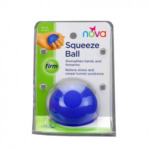 Hand Squeeze Ball Firm Blue