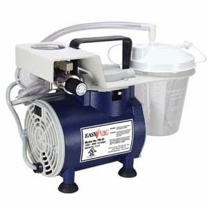 Easy Vac Aspirator With 800cc Canister & Hospital Plug