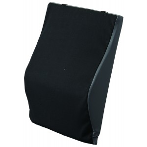 "Back Cushion Lumbar 24"" Black"
