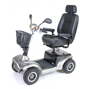 Prowler 3410 4-Wheel Full Size Scooter 20 Metallic Gray