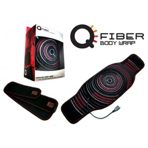 Q Fiber Infrared Heat Therapy Body Wrap Universal-Unisex