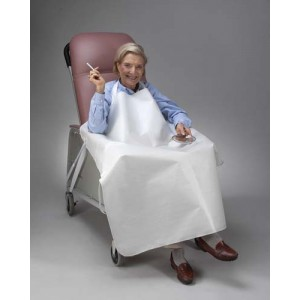Geri-Chair Smoker's Apron White